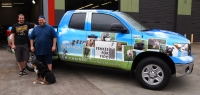 A Mobile Fido Billboard: Thanks to Tommy's Window Tinting!